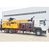 DTH Truck Mounted Water Well Drilling Rig Machine 200m Full Hydraulic Type