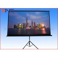 Large Motorized Projector Screen , Electric Pull Down Projector Screen