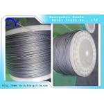 China Stainless Steel Wires Material Cable Wire 316 Grade  invisible grill accessories