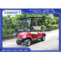 China Solar Panels Roof Left Hand Drive Electric Golf Carts With Deep Recycle Batteries for sale