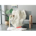 120x160cm Bed Blanket Solid Color Fiber Quilt