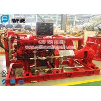 China Firefighting Use Horizontal End Suction Diesel Engine Driven Fire Pump Set for sale