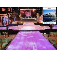 P4.81 Outdoor Rental Led Backdrop Floor Display Screen High Definition High Brightness for Outdoor Wedding for sale