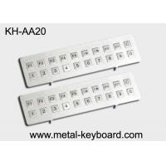 Kiosk Stainless steel Keyboard Vandal - proof , long life ruggedized keyboard