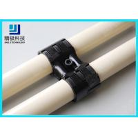 Adjustable Swivel Metal Pipe Joints For Rotating In Pipe Rack System Black Fitting HJ-8 for sale