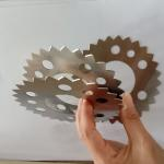 Rolling Cutter Carbide Circular Blade For Air Conditioner Radiator Machine for sale