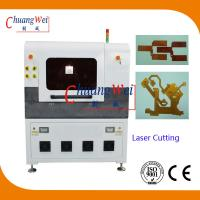 Laser Cutting PCB Depaneling Machine , 17 Watt UV Laser Cutter Equipment for sale