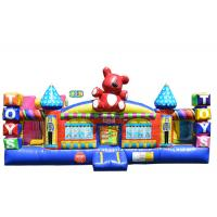 Safe Durable Lead Free Inflatable Kids Playground / Bounce House Playground for sale