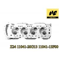 Nissan Z24 11041 20G13 / 11041 13F00 Diesel Engine Cylinder Head Cast Iron / Aluminum Material for sale