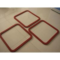 Hot Resistant Silicone Sponge Gasket , Silicone Foam Gasket ROHS / FCC / SGS for sale