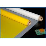 High Printing Adaptability Polyester Screen  54 - 64T White / Yellow Color