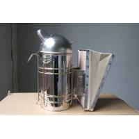Long - Life SS Beekeeping Smoker , Hive Smoker With Leather Bellow Box for sale