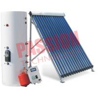 China Direct Flow Sun Power Solar Water Heater Rooftop , Split Solar Hot Water System for sale