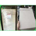 China Plain Grey Board Recycled 2.0mm 1250gsm Hard Stiffness Paperboard for sale