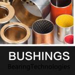 Gear Pump Bushing Range Bimetal Bearings Tin Plating Or Cooper Plating for sale