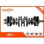 High Performance Crankshafts For ISUZU 6BD1-T / 6BD1 Engine 1123104370 for sale