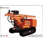 Crawler Hydraulic Solar Drill Rig Machine 45° Climb Ability 300 Posts / Day for sale