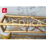 Silver or Black and OEM Color and Customized Length Aluminum Truss for sale