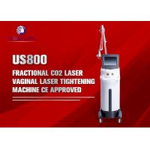 10600nm Laser Beauty Machine / 50W Co2 Laser Fractional Skin Resurfacing for sale