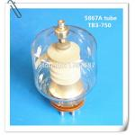 China High Frequency Vacuum Electron Glass Tube 5867A For Industrial HF Heating for sale