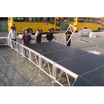 Catwalk Adjustable Motorized Stage Rotating Platform Aluminum 1220×1220 mm for sale