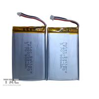 Lithium Polymer Battery Pack   LP403759 3.7v 900mah for Table PC for sale