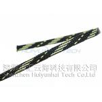China PET Expandable Braided Abrasion Resistant sleeving For Electrical Cable for sale