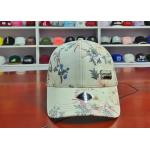 Custom Flower Metal Label Sports Dad Hats Breathable And Waterproof for sale