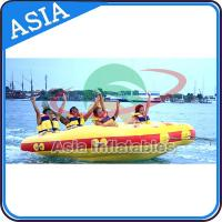 4 Seats Bali Rolling Donut Inflatable Boats Rider For Water Sport Games for sale