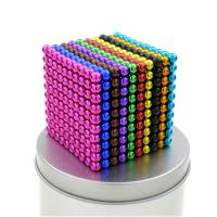 Colored Buckyballs Magnets Neo Magnet Puzzle Toys 8MM 10MM NeFeB Magnet for sale