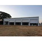 Corrugated color bone roof cladding steel structure storage in Manila, Philippines