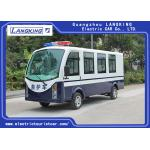 China Blue / White Color Electric Ambulance Car With Toplight For Hospital for sale