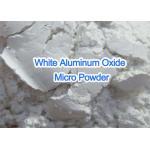 White Pure Aluminum OxideMicro Powder , Super Fine Grit Aluminum Oxide for sale