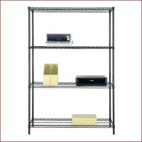 Multipurpose Home Organized Display Rack 4 Tier Wire Shelving 14D X 36W for sale