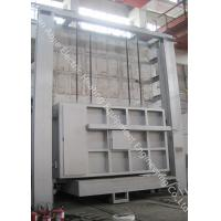 China Industrial Heat Treatment Car Bottom Furnace Large Scale For Annealing / Normalizing for sale