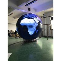 Ball Led Display Globe Screen Pixel Pitch 4 Mm Diameter 3 M Seamless Splicing for sale