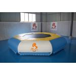 TUV Certificate Inflatable Floating Water Trampoline For Lake for sale