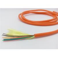 Novel Flute Design Indoor Optical Cable Anti - Ultraviolet Harmless To Environment for sale