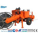 China 77kw 103hp Transmission Line Stringing Equipment Hydraulic Puller Cummins Engine for sale