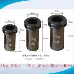JC High Purity Graphite Crucibles for Melting Gold with 10 pcs minimum order for sale