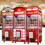China 1 Player Coin Operated Toy Crane Machine For Shopping Mall , Game Center for sale