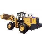China Municipal Engineering Articulated Wheel Loader / 660B Bucket Wheel Loader 3.5CBM for sale