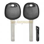 High Security Long Blade Toyota / Lexus transponder key shell Pop Style Key Blank for sale