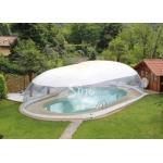 Outdoor custom size transparent inflatable pool dome with covered ceiling for sale