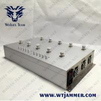 China VHF UHF GSM 3G 4G Mobile Phone Signal Jammer GPS WiFi/Bluetooth Lojack Jammer Meeting Room use for sale
