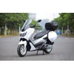 Air Cooled Adult Motor Scooter 85KM / H Max Speed With Hydraulic Shock Absorber for sale