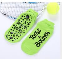 China Available Various Color Trampoline Grip Socks High Jump Knitting Socks For Happy Sky Zone for sale
