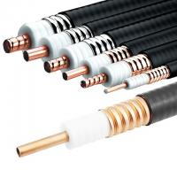 Micro Corrugated Copper Tube Coaxial Cable For Microwave Telecommunication for sale