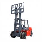 Automatic 5.0 Ton Electric Powered Forklift High Efficiency OEM ISO9001