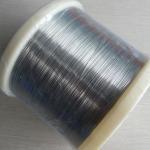 Black Polished Pickling Surgical Grade Titanium Wire , Titanium Round Wire for sale